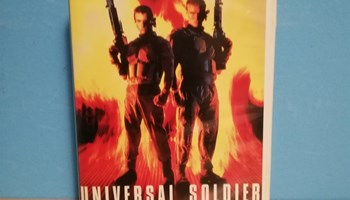 UNIVERSAL SOLDIER VHS KAZETA