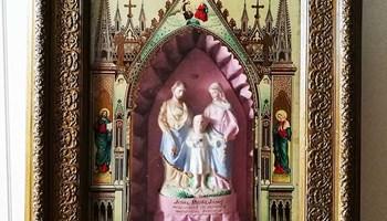 Kućni građanski oltar - slika s kraja 19. st.