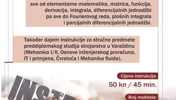 Instrukcije iz matematike i statistike