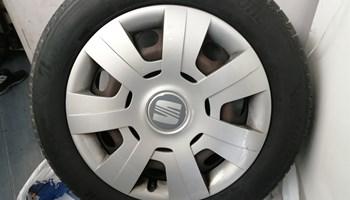 Bridgestone 205 55 16 DOT 0720 i 5x112 felge