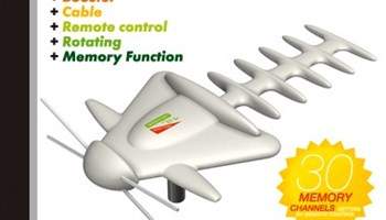 Antena TV - NOVO! - Električna , vanjska , UHF + VHF , daljinski