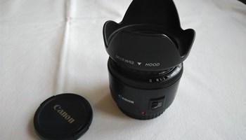 Canon 50 mm / 1,8