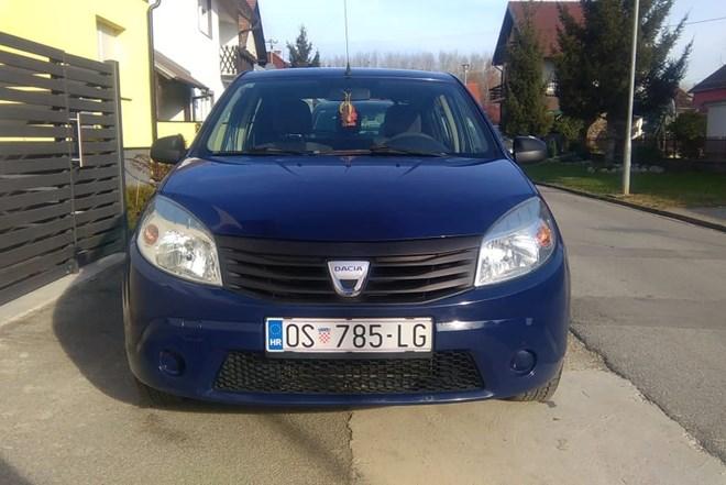 Dacia Sandero 1,4 MPI,,,,,,1, VLASNIK,,,,