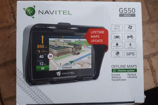 Auto/moto navigacija NAVITEL G550 -nova