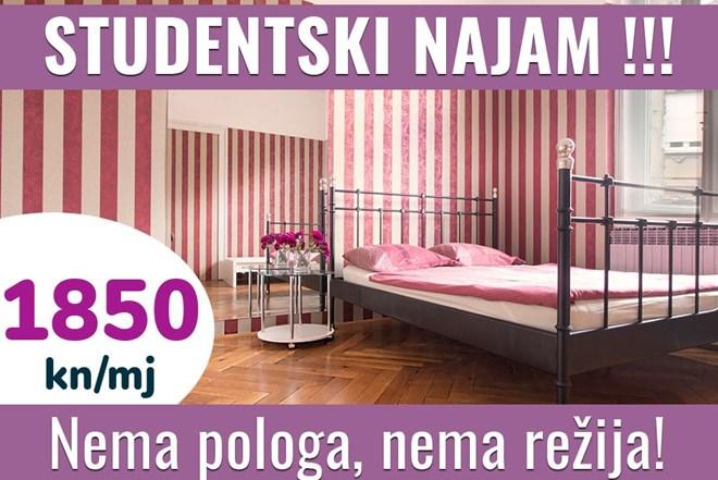 Studentski najam - Zagreb (strogi centar)
