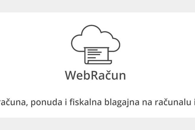 Webračun - Fiskalna blagajna - na računalu i mobitelu