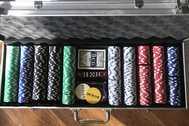 Poker set - veliki