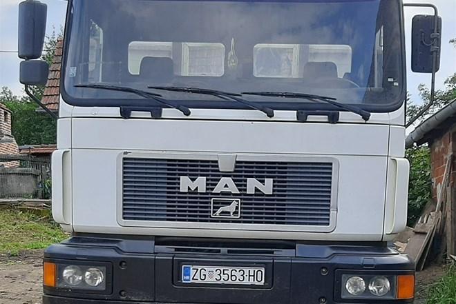 MAN 26-403,KIPER -KRAN