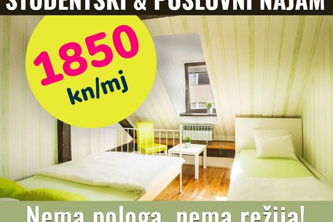 Vlastita soba u hostelu/ ZG-centar, nema pologa, NEMA REŽIJA !!