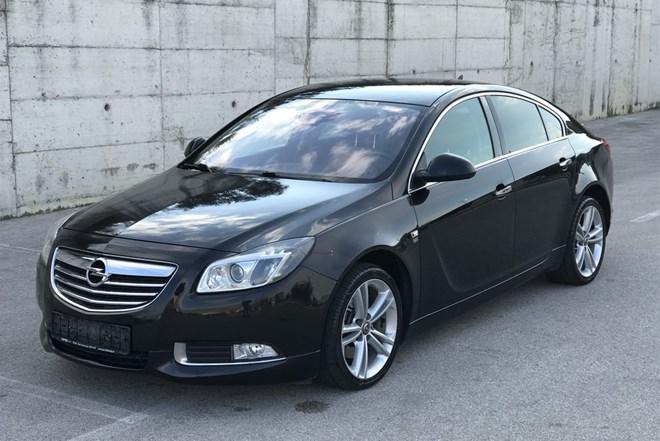 Opel Insignia 2.0 CDTi, BI-TURBO 4x4, 143kW, OPC Line, koža, bi-xenon