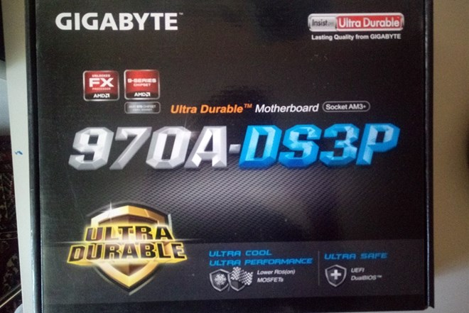 Matična ploča GIGABYTE 970A-DS3P