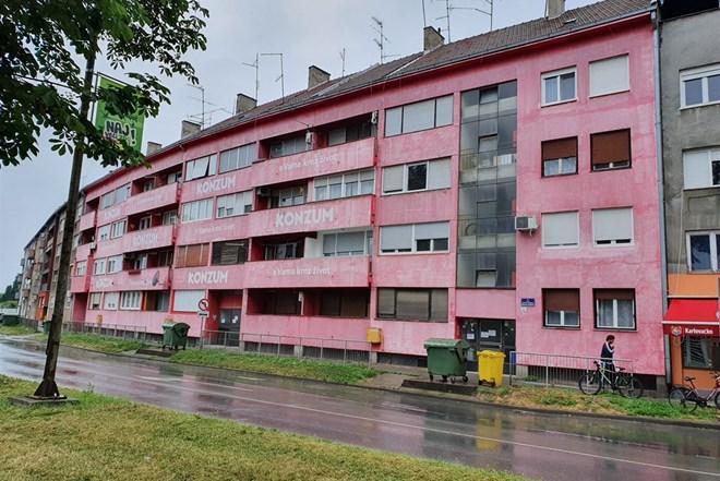 Stan Osijek Gornji grad / Centar / 24m2 /  zgrada KONZUM