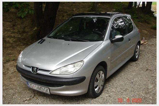 Peugeot 206 1.4 EL.šiber,Reg. 950 EUR-a