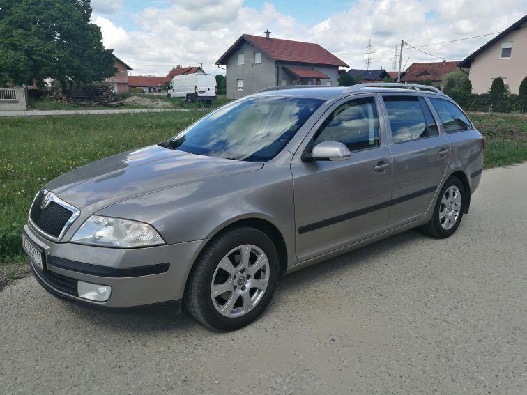 Škoda Octavia Combi 1.9 TDI top stanje, Elegance oprema