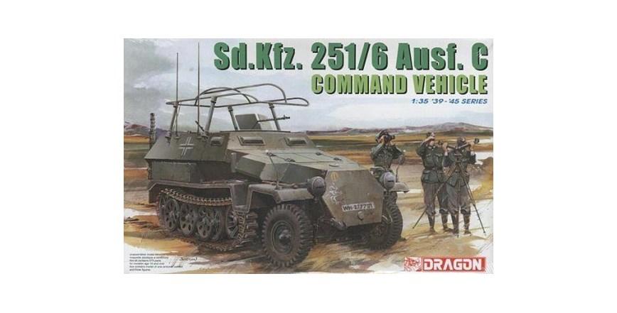 Maketa oklopnjak Sd.Kfz.251 Command Vehicle 1/35 1:35