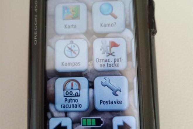 GPS za planinarenje.