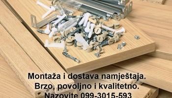 Montaža i dostava namještaja iz IKEA, Lesnina, Emmezeta, Prima, Jysk, Harvey Norman