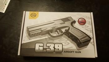 Airsoft gun G.39 AIR soft Pištolj Airsoft Crni