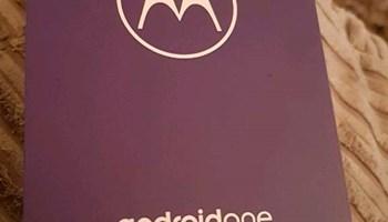 Motorola Android One  - Nov, Zapakiran, Crni