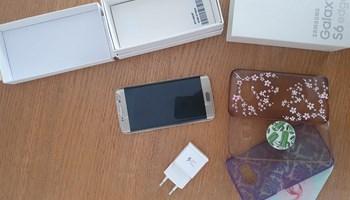 Samsung galaxy s6 edge- zlatni