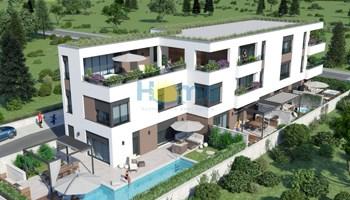 Istra - Novigrad, kompletno opremljen luksuzni novi stan 1 km od plaže