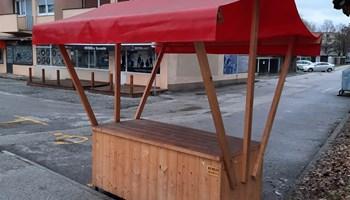 Štand za prodaju voća