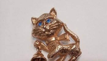 Broš mačka Avon