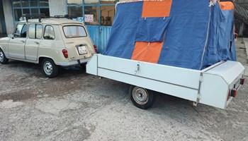 Renault 4 gtl i brako prikolica