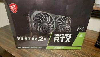 NOVO MSI GeForce RTX 3060 Ti LHR VENTUS 2X OC 8 GB GDDR6
