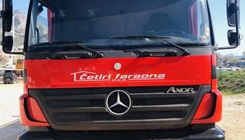 Mercedes Axor sa kranom