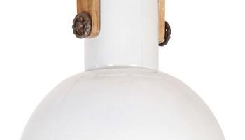Industrijska viseća svjetiljka 25 W bijela okrugla 42 cm E27 - NOVO