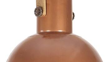 Industrijska viseća svjetiljka 25 W bakrena okrugla 52 cm E27 - NOVO