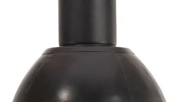 Viseća svjetiljka 25 W tamnocrna okrugla 28,5 cm E27 - NOVO