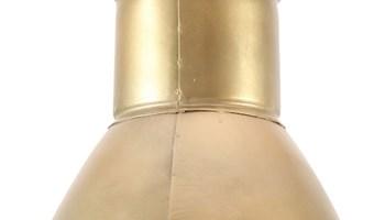 Viseća svjetiljka 25 W mjedena okrugla 17 cm E27 - NOVO