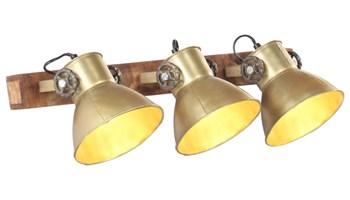 Industrijska zidna svjetiljka mjedena 65 x 25 cm E27 - NOVO