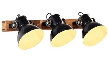 Industrijska zidna svjetiljka tamnocrna 65 x 25 cm E27 - NOVO