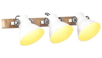 Industrijska zidna svjetiljka bijela 65 x 25 cm E27 - NOVO
