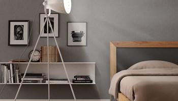 Podna svjetiljka s tronošcem metalna bijela E27 - NOVO