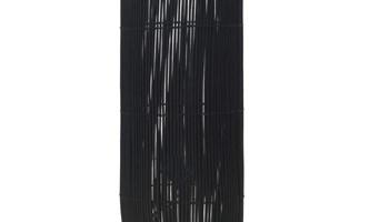 Stojeća podna svjetiljka od vrbe crna 84 cm E27 - NOVO