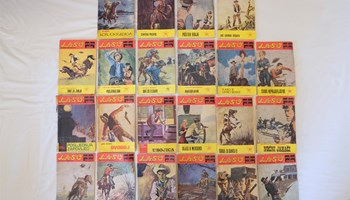 Laso strip - prva polovica 1970-ih - 25 komada