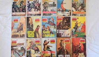 Laso strip - druga polovica 1970-ih - 23 komada