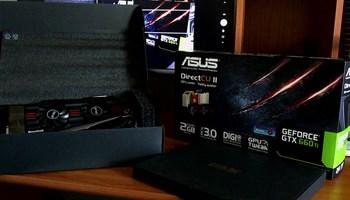 ASUS Nvidia GeForce GTX 660 Ti Direct CU II  2GB PCIe 3.0