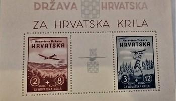Marke NDH za Hrvatska krila LOT