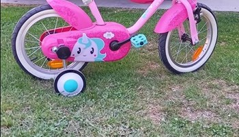 Prodajem dijeciji bicikl malo vozen.jako uscuvan