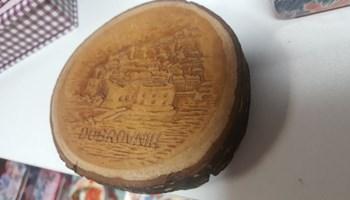 Suvenir izgravirani Dubrovnik - drvo