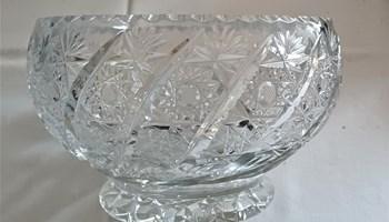 Kristalna zdjela masivna