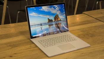 Microsoft Surface Book 2 15 Core i7-8650U, 16GB RAM, 256GB SSD, touch screen
