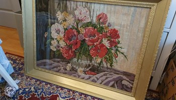 Wiehlerovi gobleni - Poljsko cvijeće goblen br. 24