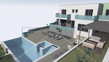 Zemljište s dozvolom za gradnju vilu s bazenom, Primošten