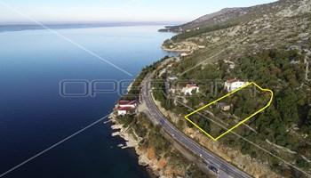 Građevinsko zemljište, 30 m do mora , 1414 m2, Tribanj